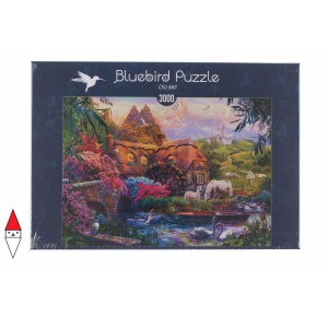 , , , PUZZLE EDIFICI BLUEBIRD COTTAGES E CHALETS OLD MILL 3000 PZ