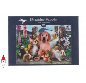, , , PUZZLE ANIMALI BLUEBIRD ANIMALI VARI GOOD COMPANIONS 500 PZ