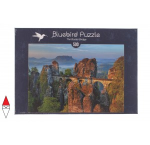 , , , PUZZLE EDIFICI BLUEBIRD PONTI THE BASTEI BRIDGE 500 PZ