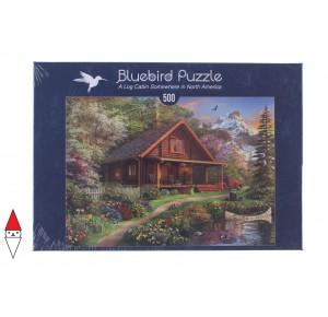 , , , PUZZLE EDIFICI BLUEBIRD COTTAGES E CHALETS 500 PZ