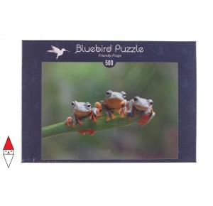 , , , PUZZLE ANIMALI BLUEBIRD RANE FRIENDLY FROGS 500 PZ