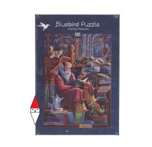 , , , PUZZLE OGGETTI BLUEBIRD LIBRI EVENING PLEASURES 500 PZ