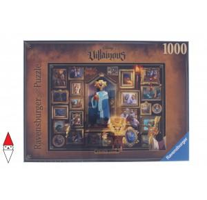 , , , PUZZLE DISNEY RAVENSBURGER CARTONI ANIMATI VILLAINOUS KING JOHN 1000 PZ