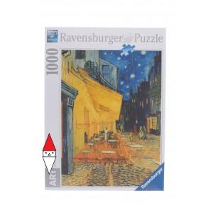 , , , PUZZLE ARTE RAVENSBURGER VAN GOGH CAFFE DI NOTTE 1000 PZ