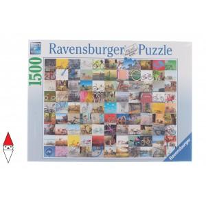 , , , PUZZLE OGGETTI RAVENSBURGER BICICLETTE 99 BICICLETTE 1500 PZ
