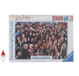 , , , PUZZLE TEMATICO RAVENSBURGER CHALLENGE PUZZLE HARRY POTTER 1000 PZ