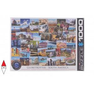 EUROGRAPHICS, , , PUZZLE PAESAGGI EUROGRAPHICS COLLAGE GLOBETROTTER AMERICA DEL SUD 1000 PZ