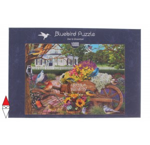 , , , PUZZLE ANIMALI BLUEBIRD UCCELLI BED AND BREAKFAST 1000 PZ