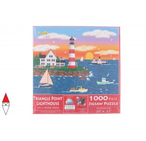 , , , PUZZLE GRAFICA SUNSOUT MARK FROST TRIANGLE POINT LIGHTHOUSE 1000 PZ