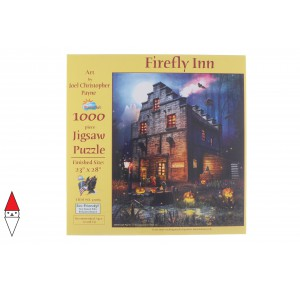 , , , PUZZLE TEMATICO SUNSOUT HALLOWEEN CHRISTOPHER PAYNE FIREFLY INN 1000 PZ
