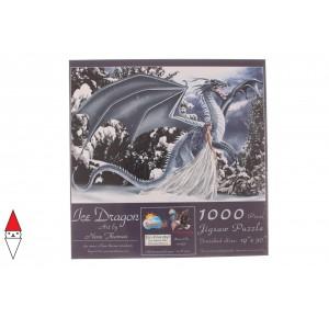 , , , PUZZLE GRAFICA SUNSOUT FANTASY NENE THOMAS ICE DRAGON 1000 PZ