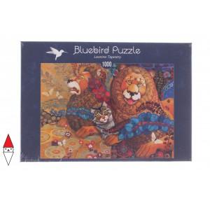 , , , PUZZLE GRAFICA BLUEBIRD LEONI LEONINE TAPESTRY 1000 PZ