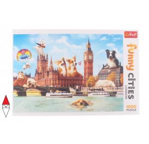 , , , PUZZLE PAESAGGI TREFL CITTA SWEET LONDON LONDRA 1000 PZ