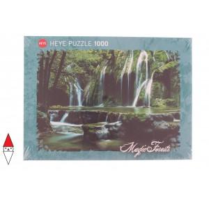 , , , PUZZLE PAESAGGI HEYE FIUMI E CASCATE MAGIC FORESTS CASCADES 1000 PZ