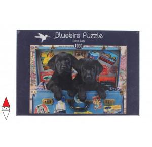 BLUEBIRD, , , PUZZLE ANIMALI BLUEBIRD CANI TRAVEL LABS 1000 PZ
