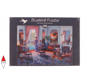 , , , PUZZLE TEMATICO BLUEBIRD INTERNI ROMANTIC REMINISCENCE 1000 PZ