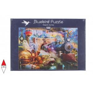 , , , PUZZLE MEZZI DI TRASPORTO BLUEBIRD TRENI MAGICAL JOURNEY 1000 PZ