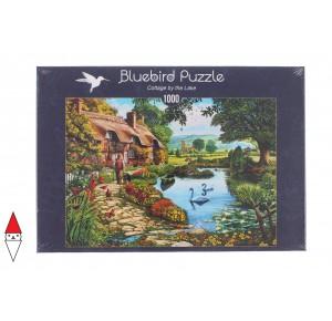 , , , PUZZLE EDIFICI BLUEBIRD COTTAGES E CHALETS COTTAGE BY THE LAKE 1000 PZ
