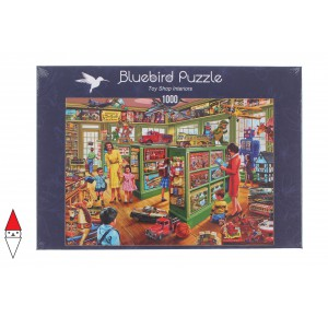 , , , PUZZLE TEMATICO BLUEBIRD NEGOZI TOY SHOP INTERIORS 1000 PZ