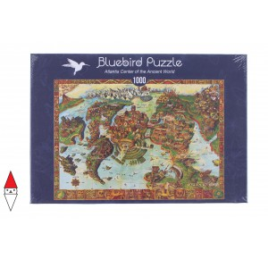 , , , PUZZLE OGGETTI BLUEBIRD CARTE GEOGRAFICHE ANCIENT WORLD 1000 PZ