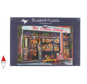 , , , PUZZLE TEMATICO BLUEBIRD NEGOZI THE BOOKSHOP KIDS 1000 PZ