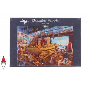 BLUEBIRD, , , PUZZLE TEMATICO BLUEBIRD MESTIERI BOAT YARD 1000 PZ