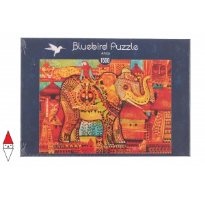 , , , PUZZLE GRAFICA BLUEBIRD ELEFANTI AFRICA 1500 PZ