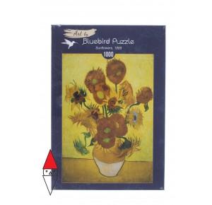 , , , PUZZLE ARTE BLUEBIRD IMPRESSIONISMO VINCENT VAN GOGH - SUNFLOWERS 1889 1000 PZ
