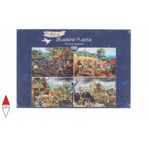 , , , PUZZLE ARTE BLUEBIRD PIETER BRUEGHEL THE YOUNGER - THE FOUR SEASONS 1000 PZ
