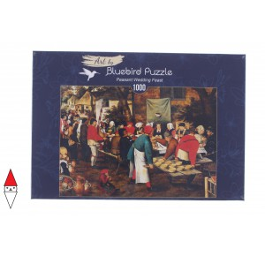 , , , PUZZLE ARTE BLUEBIRD BRUEGHEL THE YOUNGER PEASANT WEDDING FEAST 1000 PZ