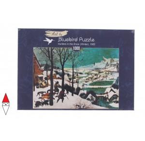 , , , PUZZLE ARTE BLUEBIRD BRUEGEL THE ELDER - HUNTERS IN THE SNOW 1000 PZ