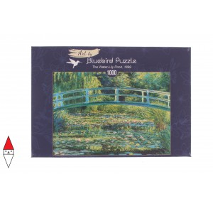 , , , PUZZLE ARTE BLUEBIRD IMPRESSIONISMO MONET THE WATER-LILY POND 1899 1000 PZ
