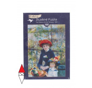 , , , PUZZLE ARTE BLUEBIRD IMPRESSIONISMO RENOIR TWO SISTERS (ON THE TERRACE) 1000 PZ