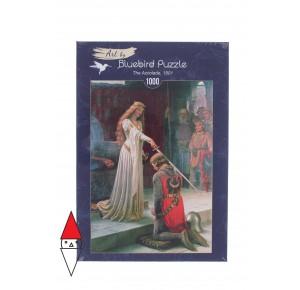 BLUEBIRD, , , PUZZLE ARTE BLUEBIRD PITTURA 1900 E. BLAIR LEIGHTON -THE ACCOLADE  1000 PZ