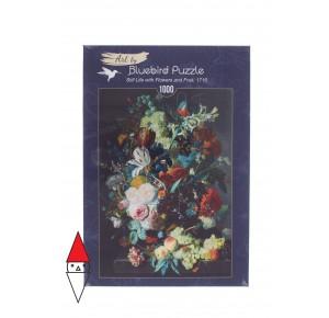 , , , PUZZLE ARTE BLUEBIRD PITTURA FIAMMINGA J.V.HUYSUM STILL LIFE 1000 PZ