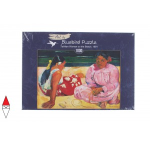 , , , PUZZLE ARTE BLUEBIRD IMPRESSIONISMO GAUGUIN TAHITIAN WOMEN ON THE BEACH 1000 PZ
