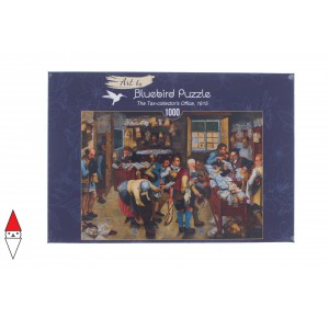 , , , PUZZLE ARTE BLUEBIRD P.BRUEGHEL THE YOUNGER - THE TAX-COLLECTORS OFFICE 1000 PZ