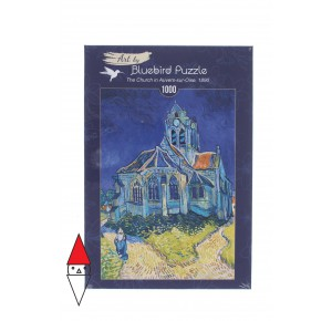 BLUEBIRD, , , PUZZLE ARTE BLUEBIRD VAN GOGH THE CHURCH IN AUVERS-SUR-OISE 1890 1000 PZ