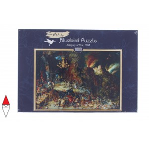BLUEBIRD, , , PUZZLE ARTE BLUEBIRD BRUEGHEL THE ELDER ALLEGORY OF FIRE  1000 PZ