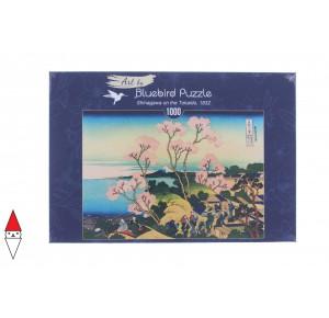 BLUEBIRD, , , PUZZLE ARTE BLUEBIRD ARTE ORIENTALE K.HOKUSAI SHINAGAWA ON THE TOKAIDO 1000 PZ