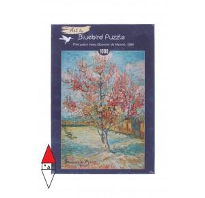 , , , PUZZLE ARTE BLUEBIRD VAN GOGH PINK PEACH TREES (SOUVENIR DE MAUVE) 1000 PZ