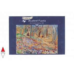 , , , PUZZLE ARTE BLUEBIRD PITTURA 1900 EDVARD MUNCH ELM FORREST IN SPRING 1923 60130