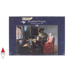, , , PUZZLE ARTE BLUEBIRD PITTURA FIAMMINGA J.VERMEER THE GLASS OF WINE 1661 60133