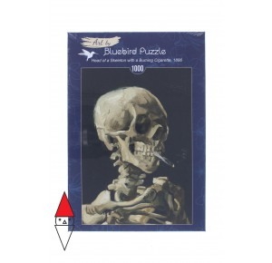 , , , PUZZLE ARTE BLUEBIRD IMPRESSIONISMO VAN GOGH HEAD OF A SKELETON 1000 PZ