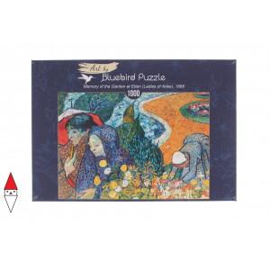 , , , PUZZLE ARTE BLUEBIRD VAN GOGH MEMORY OF THE GARDEN AT ETTEN 1000 PZ
