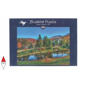 , , , PUZZLE PAESAGGI BLUEBIRD LAGHI STOWE VERMONT, USAEUR 70023