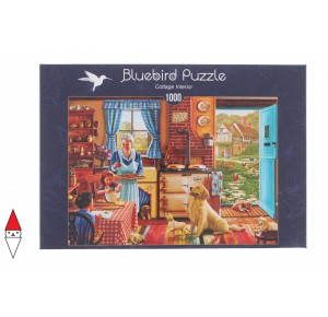 , , , PUZZLE BLUEBIRD INTERNI COTTAGE INTERIOR 1000 PZ