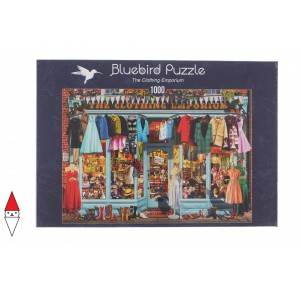 , , , PUZZLE TEMATICO BLUEBIRD NEGOZI THE CLOTHING EMPORIUM 1000 PZ