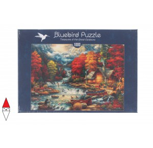 , , , PUZZLE PAESAGGI BLUEBIRD TREASURES OF THE GREAT OUTDOORS 1000 PZ