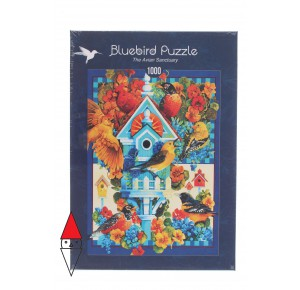 , , , PUZZLE GRAFICA BLUEBIRD UCCELLI THE AVIAN SANCTUARY 1000 PZ